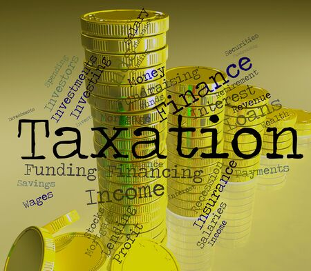 taxpayers: Taxation Word Meaning Taxes Text And Wordcloud