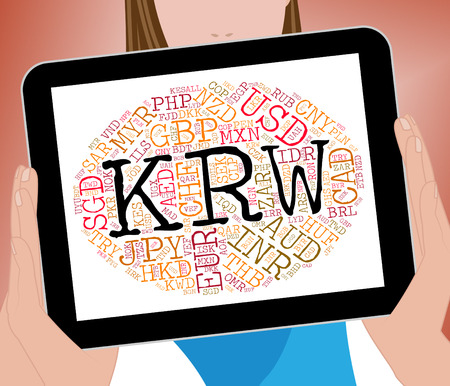 won: Krw Currency Meaning South Korean Won And South Korean Won