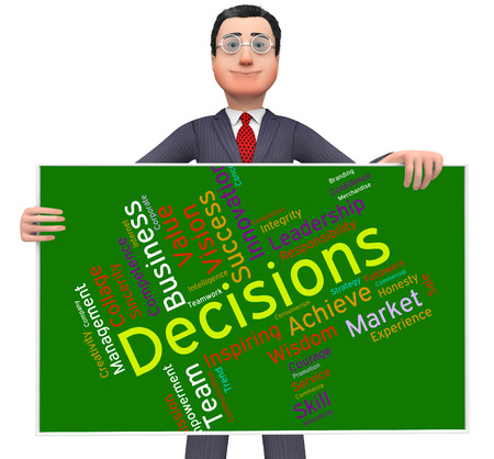 decide: Decision Words Meaning Decide Choices And Text