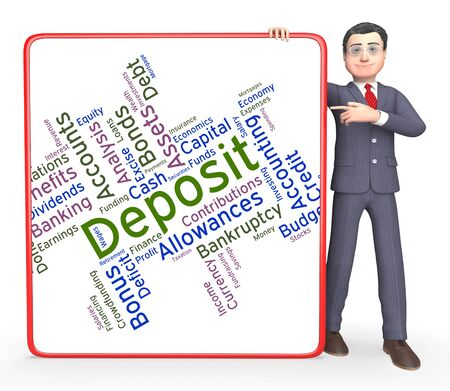 advances: Deposit Word Indicating Part Payments And Words