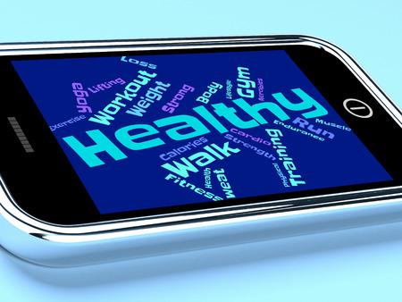 preventive medicine: Health Words Representing Preventive Medicine And Text Stock Photo