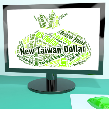 fx: New Taiwan Dollar Representing Worldwide Trading And Fx