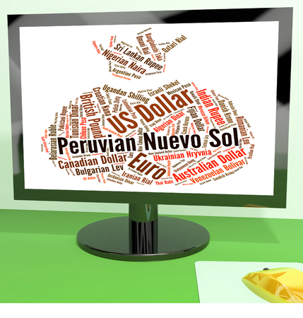 nuevo: Peruvian Nuevo Sol Meaning Foreign Currency And Coin Stock Photo
