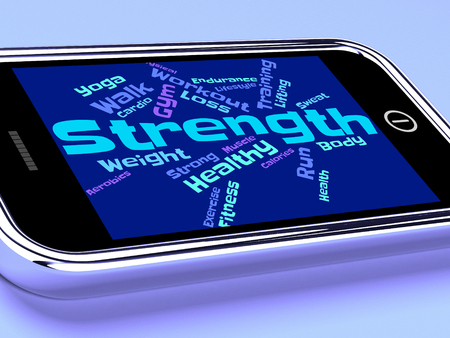 strengthen: Strength Words Showing Strengthen Sturdiness And Forceful