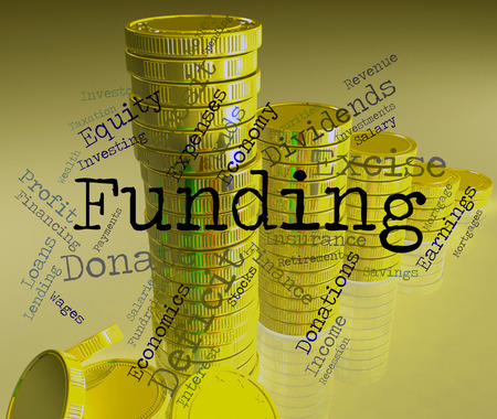 ventures: Funding Word Showing Fundraising Financial And Investment