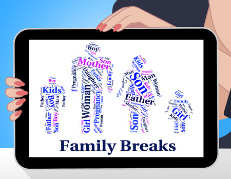 relation: Family Breaks Indicating Go On Leave And Blood Relation