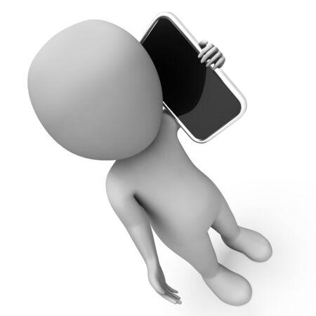 VoIP-bellen Vertegenwoordigen World Wide Web en www 3D-rendering