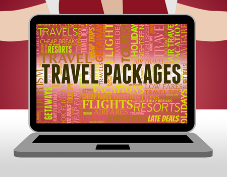 inclusive: Travel Packages Indicating Fully Inclusive And Touring