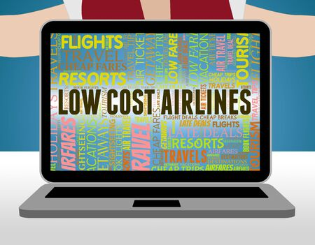 carriers: Low Cost Airlines Showing Fly Carriers And Save