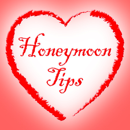honeymoons: Honeymoon Tips Representing Vacations Travel And Vacation Stock Photo