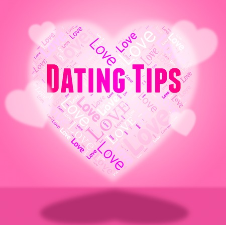 hint: Dating Tips Showing Assistance Heart And Hint