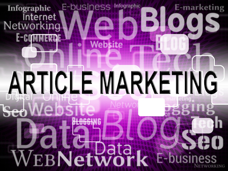 web marketing: Article Marketing Representing Web Site And Internet