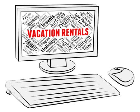 rentals: Vacation Rentals Representing Vacational Internet And Renter