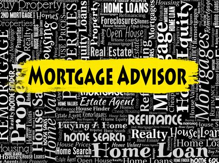 recommendations: Mortgage Advisor Meaning Ownership Mortgages And Residential Stock Photo