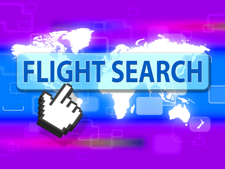 inquiry: Flight Search Showing Inquiry Searches And Aircraft