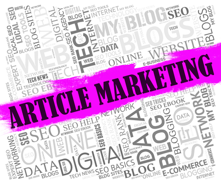 article marketing: Article Marketing Representing Search Engine And Commerce