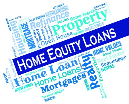 lending: Home Equity Loans Indicating Lend Loaning And Lending