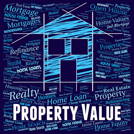valuation: Property Value Indicating Real Estate And Valuation