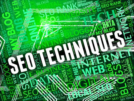 modes: Seo Techniques Showing Search Engines And Systems