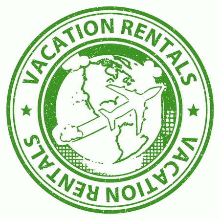 vacationing: Vacation Rentals Indicating Vacationing Holidays And Renter