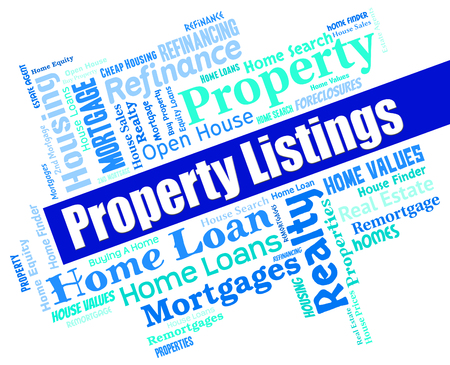 listings: Property Listings Representing For Sale And Advertising