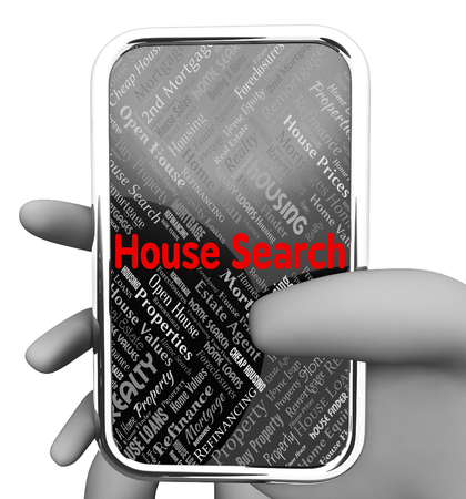 compare: House Search Indicating Compare Searching And Searches 3d Rendering