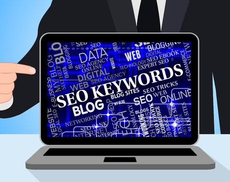 keywords: Seo Keywords Representing Search Engines And Websites