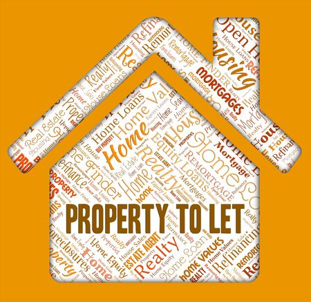 let: Property To Let Meaning Real Estate And Renting