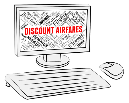 estimates: Discount Airfares Meaning Current Prices And Computer