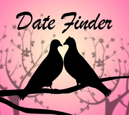 finders: Date Finder Showing Search For And Relationship