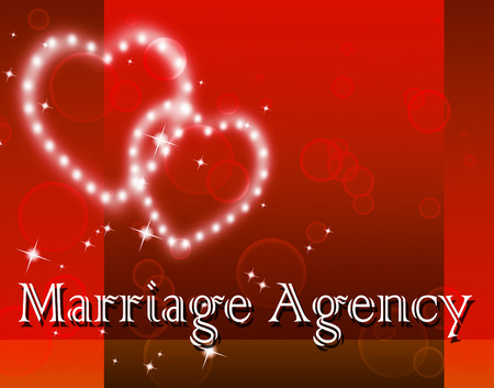 matrimony: Marriage Agency Showing Matrimony Relationship And Services