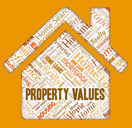 housing prices: Property Values Indicating Selling Price And Estimate