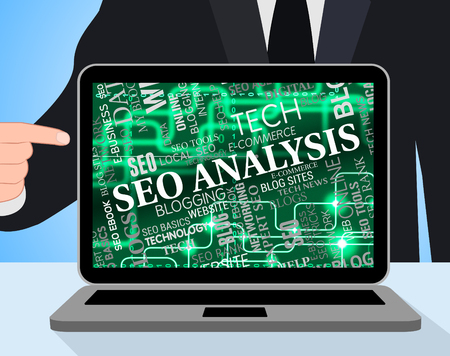 Seo Analysis Representing Search Engines And Internet