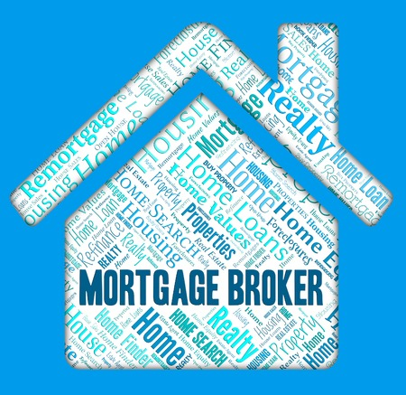 middleman: Mortgage Broker Representing Home Loan And Mortgages