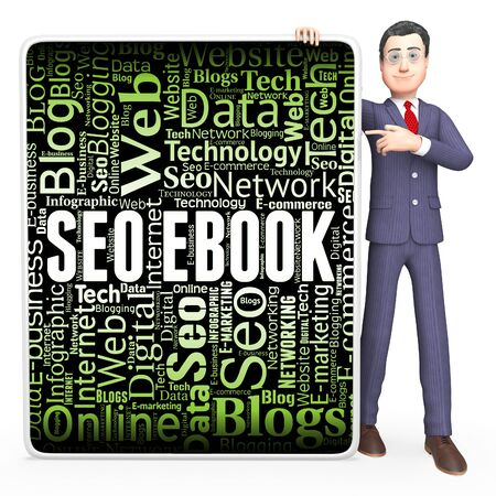search engines: Seo Ebook Meaning Search Engines And Optimized 3d Rendering
