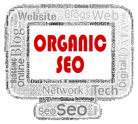 search engines: Organic Seo Showing Search Engines And Optimizing
