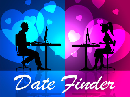 finders: Date Finder Showing Online Dating And Internet