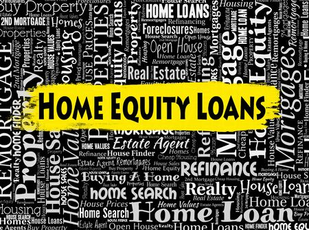 lend: Home Equity Loans Indicating Properties Lend And Property