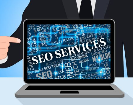 seo services: Seo Services Showing Web Site And Websites