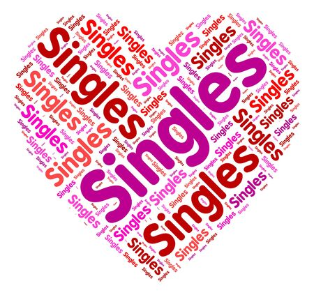 loved: Singles Heart Meaning Togetherness Loved And Romantic