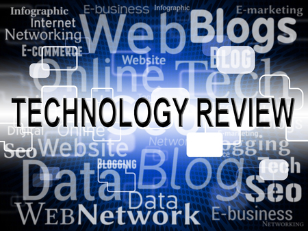 evaluate: Technology Review Representing High-Tech Evaluate And Reviews
