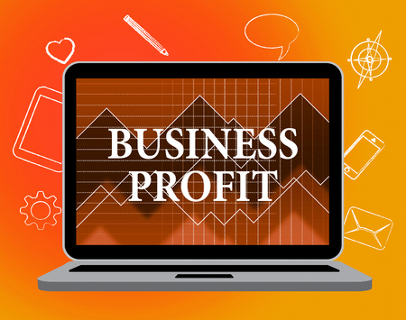 net trade: Business Profit Meaning Web Site And Corporation