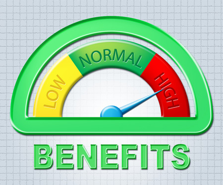 perks: High Benefits Meaning Bonus Measure And Display