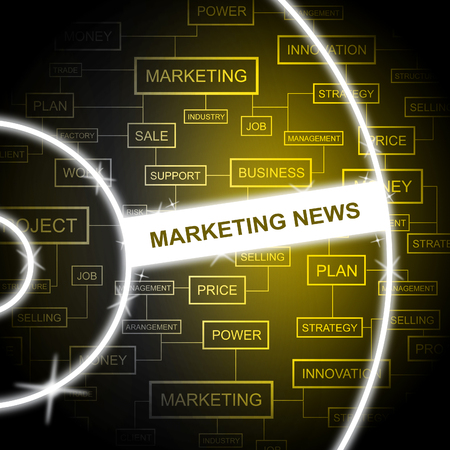 emarketing: Marketing News Representing Email Lists And Promotion