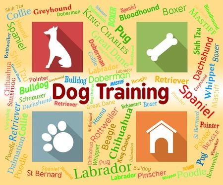 pups: Dog Training Indicating Instruction Pups And Pup