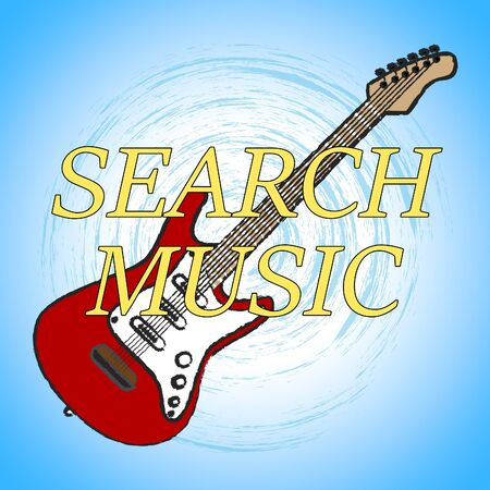 finding: Search Music Showing Finding Musical And Acoustic