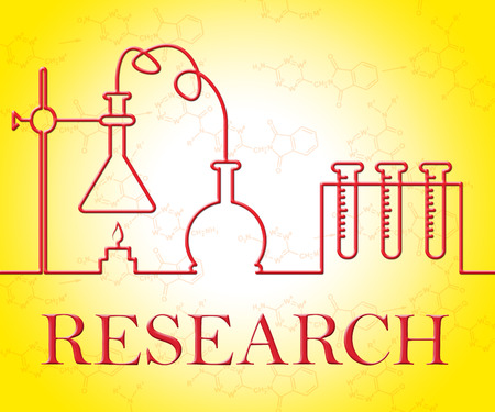 appraisal: Research Experiment Showing Researcher Analyse And Appraisal Stock Photo