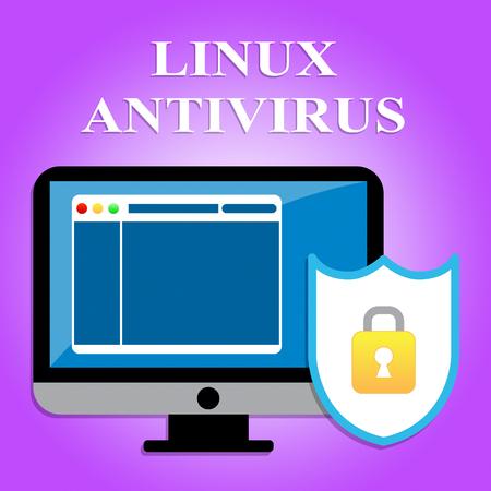 antivirus software: Linux Antivirus Meaning Malicious Software And Program