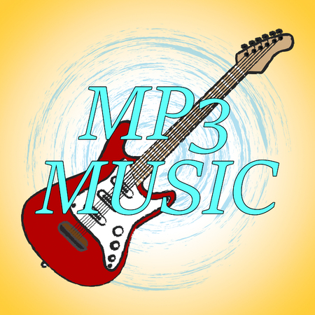 soundtrack: Mp3 Music With Melody Listening And Soundtrack Stock Photo