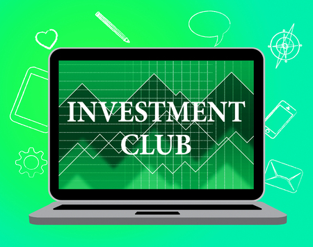 association: Investment Club Showing Group Recreation And Association